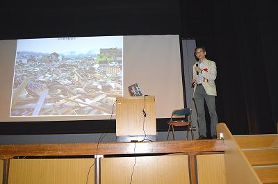 井村地域連携部門長による講演