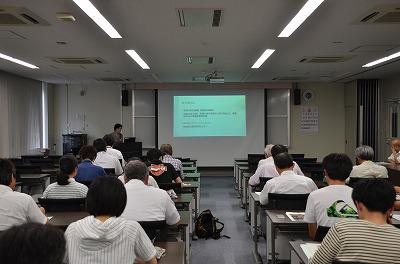 松成裕子教授の講演の様子